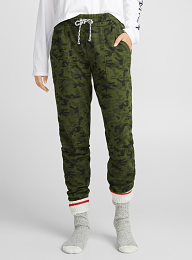 Le jogger sweat camouflage