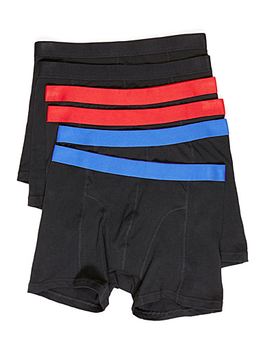 Accent waist boxer brief  6-pack