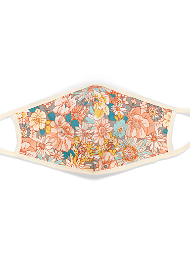 Simons Assorted Floral art fabric mask for women
