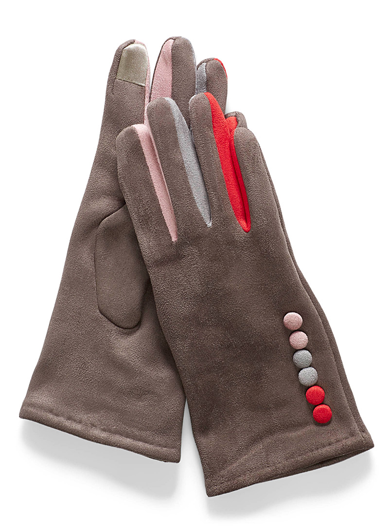 buttoned-suede-gloves