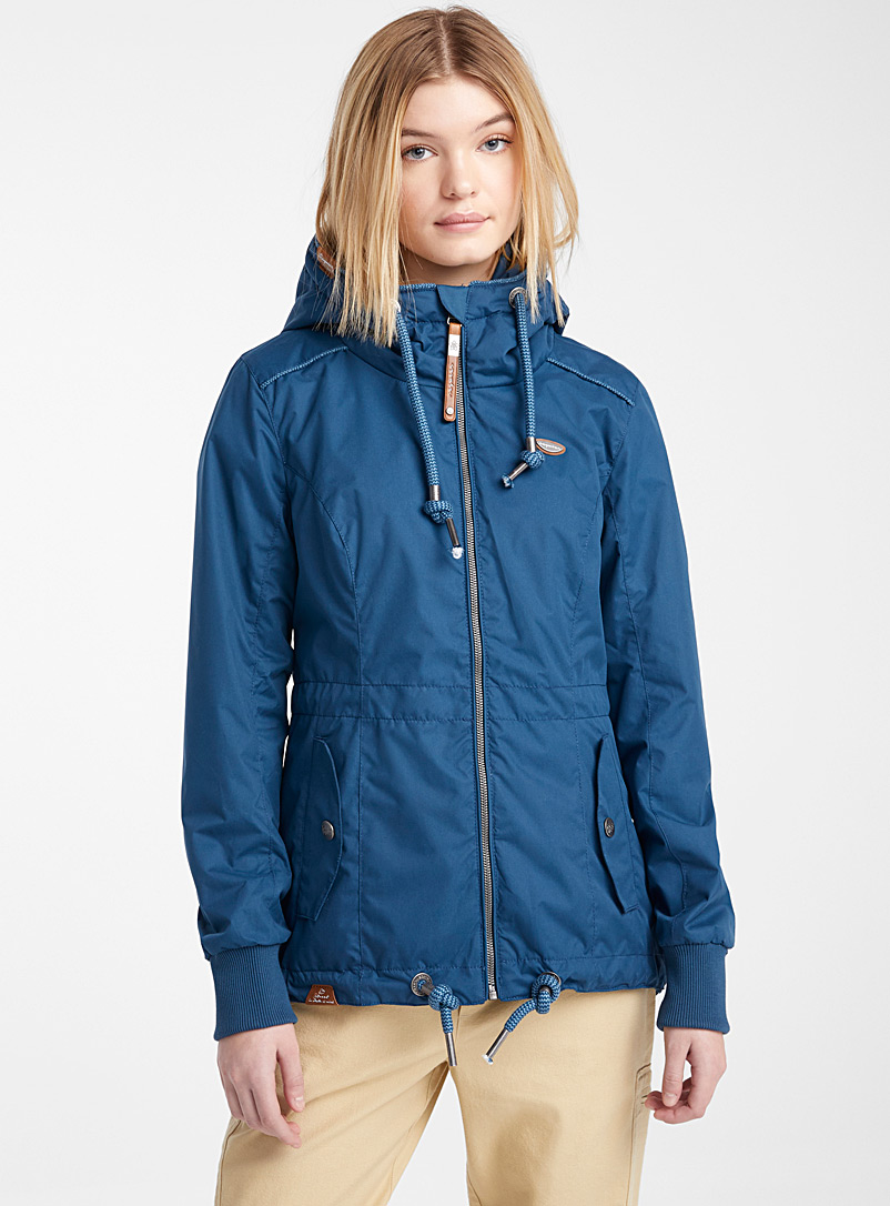 Ragwear Blue Danka urban parka for women