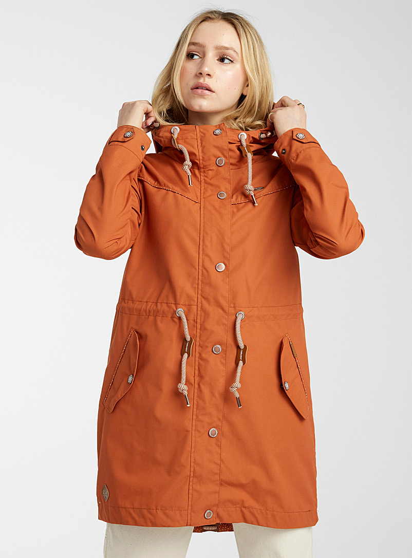 Ragwear Copper Canny long parka for women