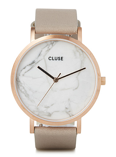 La Roche marble watch