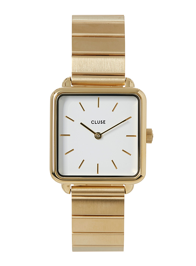Tétragone Single Link watch - Watches - Golden Yellow