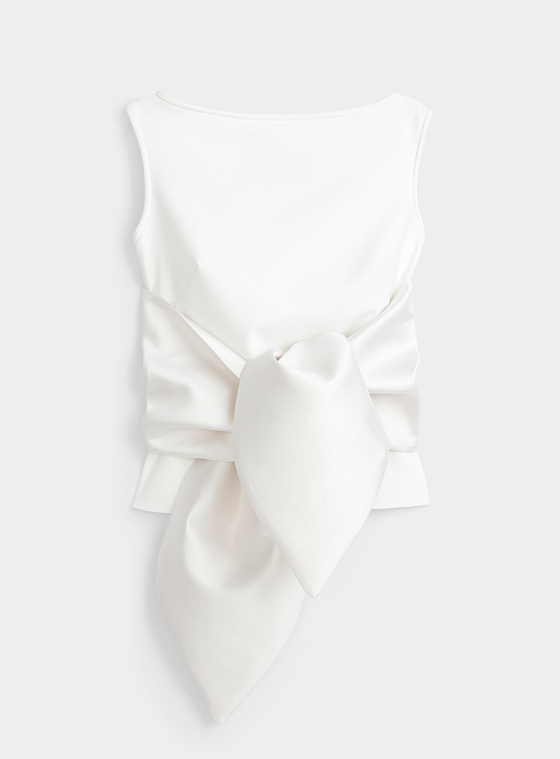 Greta Constantine White Dublin top for women