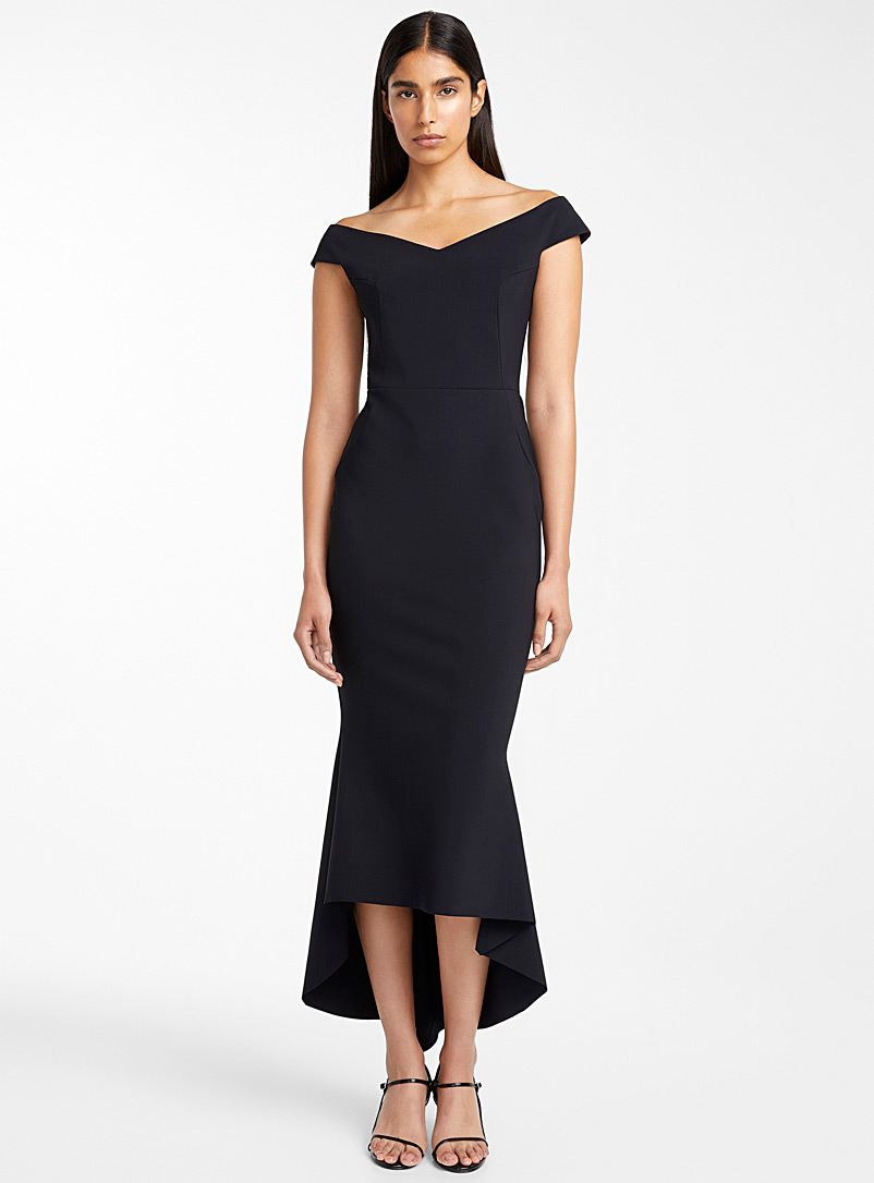 Greta Constantine Black Arilda dress for women