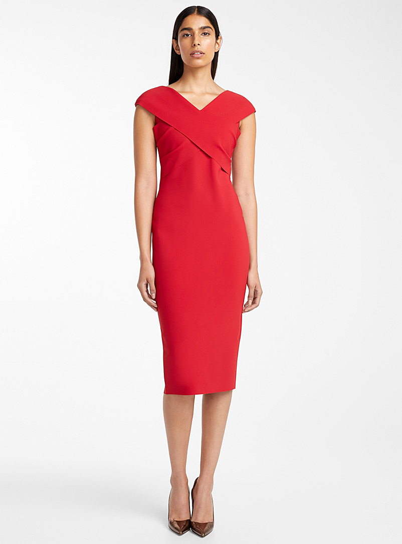 Honorina dress - Greta Constantine - Red