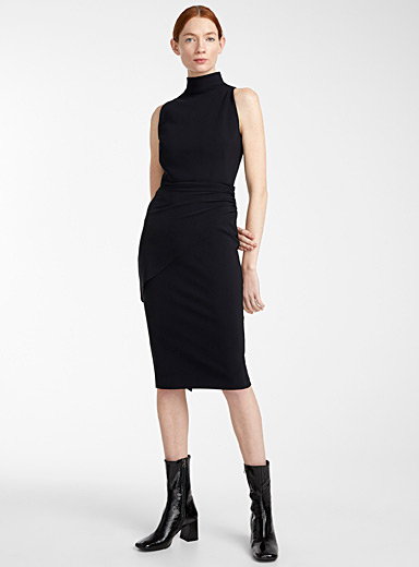 Greta Constantine Black Basia dress for women