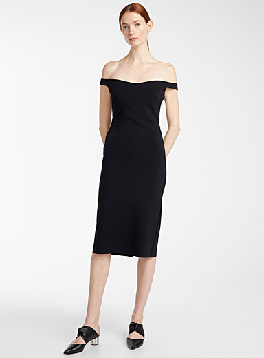 Greta Constantine Black Jamila dress for women