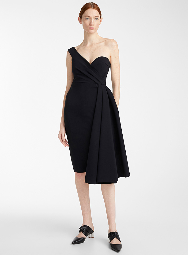 Greta Constantine Black Miss Vedast dress for women