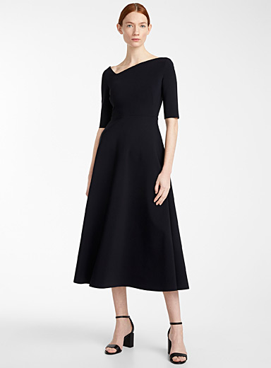Greta Constantine Black Agata dress for women