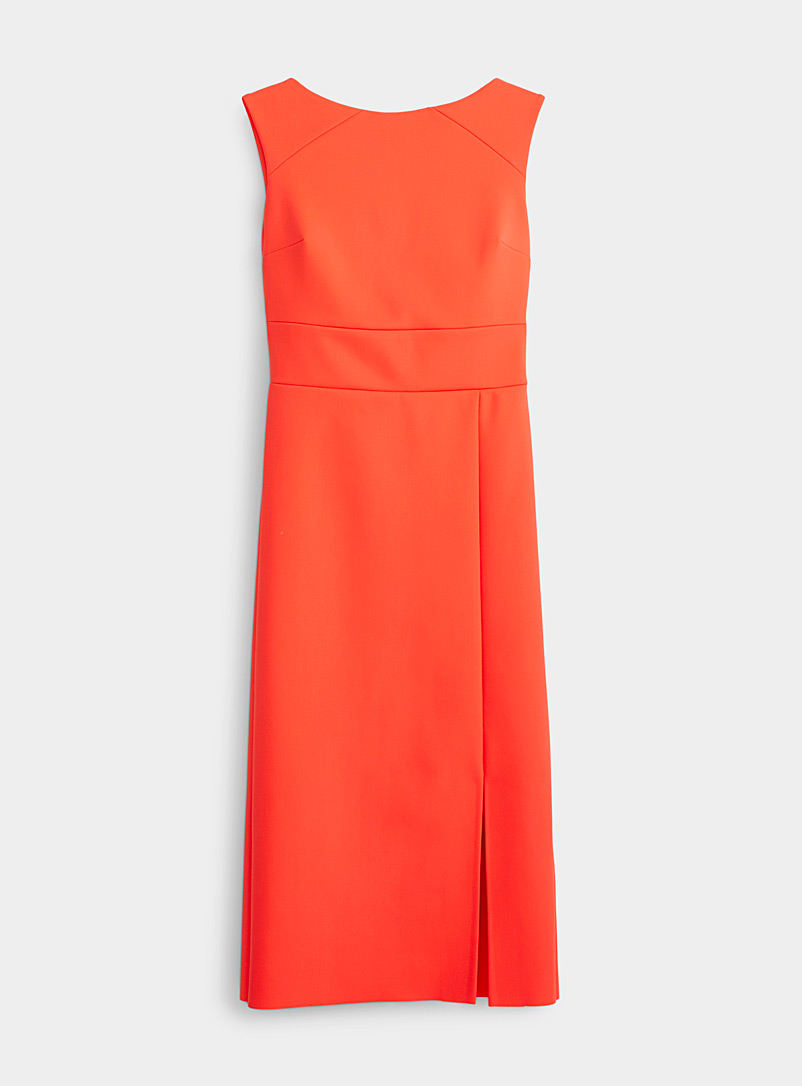 Greta Constantine Orange Sefarina orange dress for women