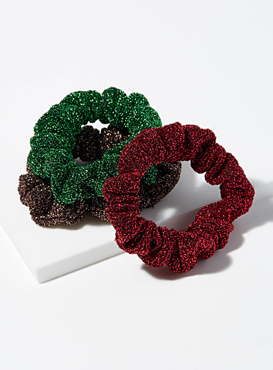 Festive scrunchies  Set of 3