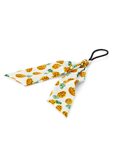 Summer print ribbon elastic