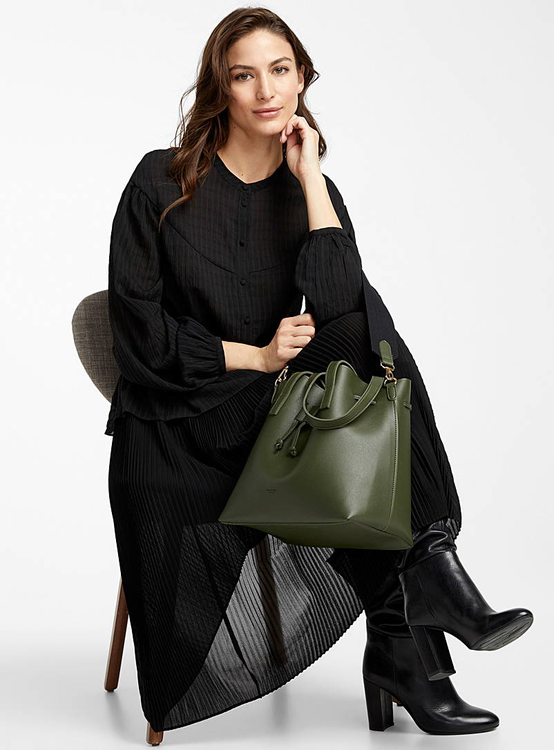 Simons Green Designer bucket bag for women