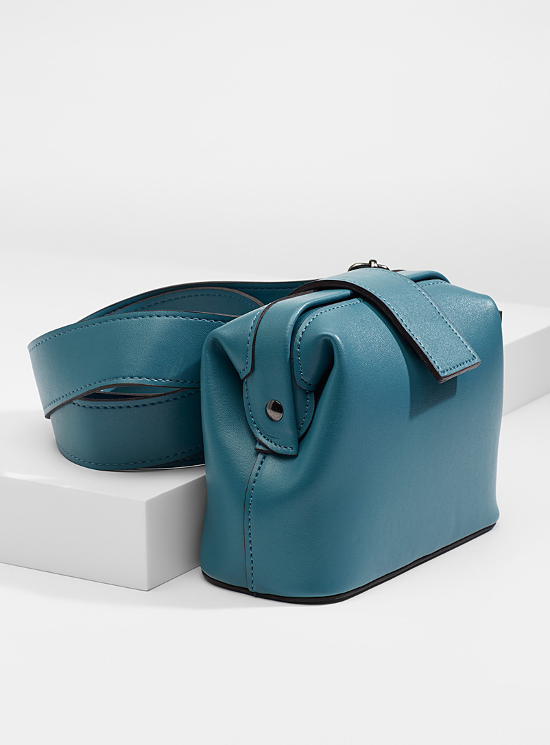 Simons Blue Shoulder belt bag for women