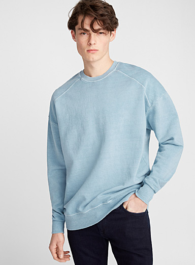 Le sweat délavé