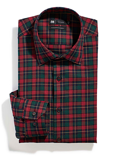 Scottish check shirt  Modern fit