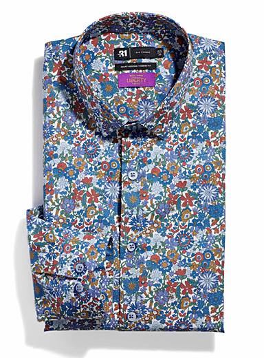 Liberty lush flower shirt  Modern fit