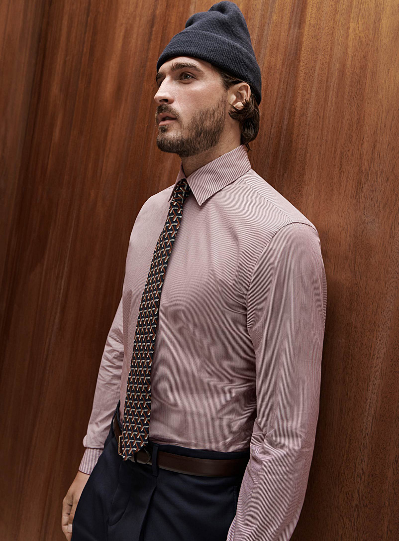 Banker stripe shirt  Modern fit