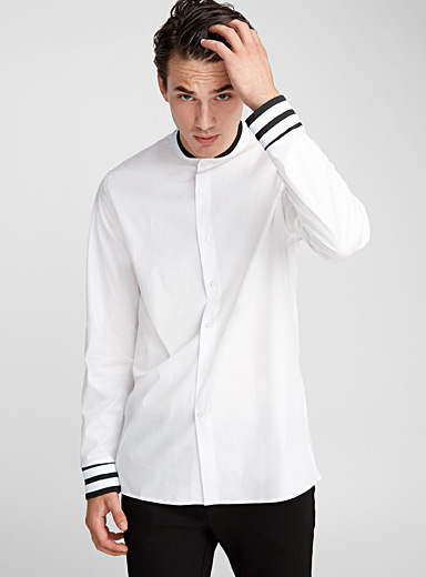 Baseball shirt  Semi-tailored fit