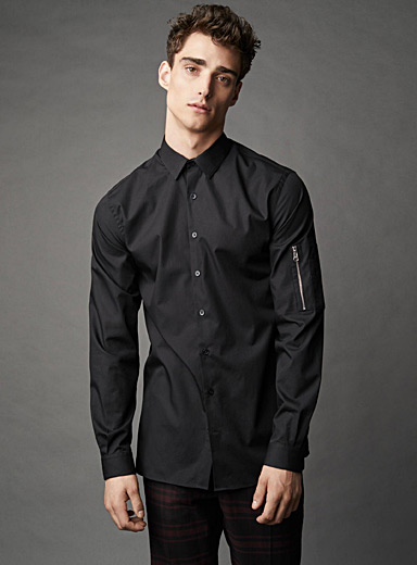 Modern utility shirt <br>Semi-tailored fit