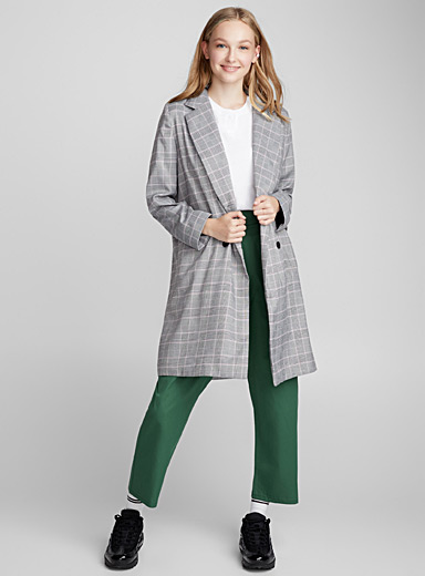 Le manteau carreaux pastel