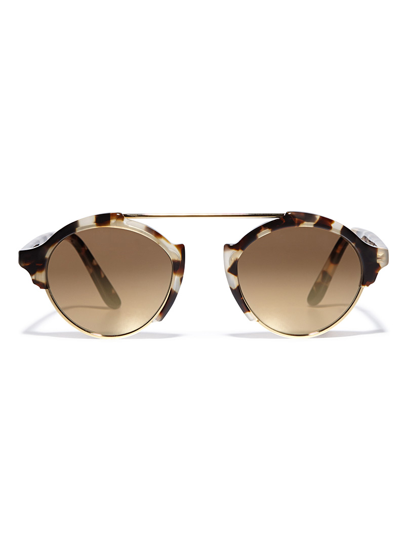 Milan 4 sunglasses - Designer - Dark Brown