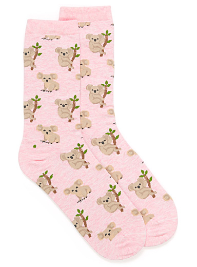 Cozy animal socks