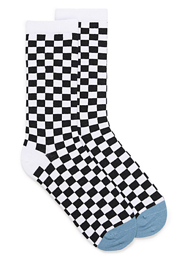 Race flag socks
