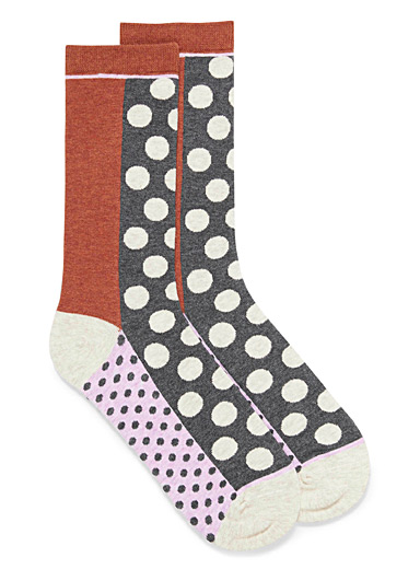Eclectic dot socks