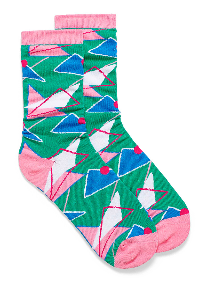 organic-cotton-retro-colourful-triangle-ankle-socks