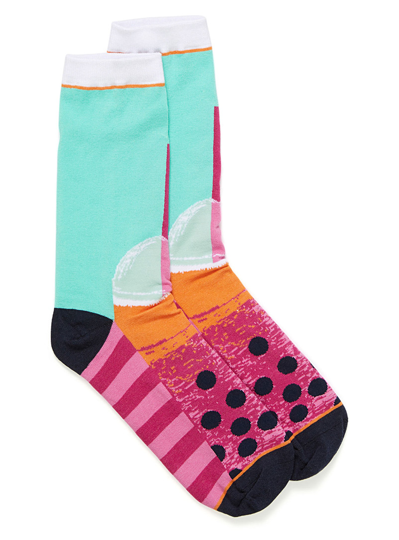 Fruity socks - Socks - Patterned Green