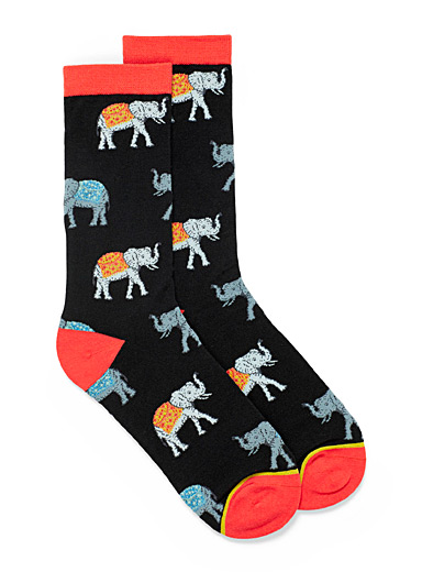 Organic cotton adorable animal socks