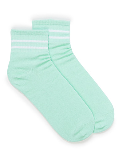 Sporty stripe socks