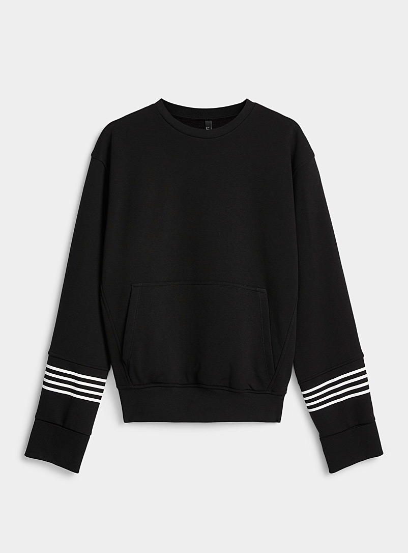 Four stripe sweatshirt