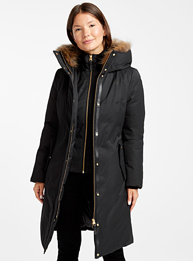 Harlow cinched down parka