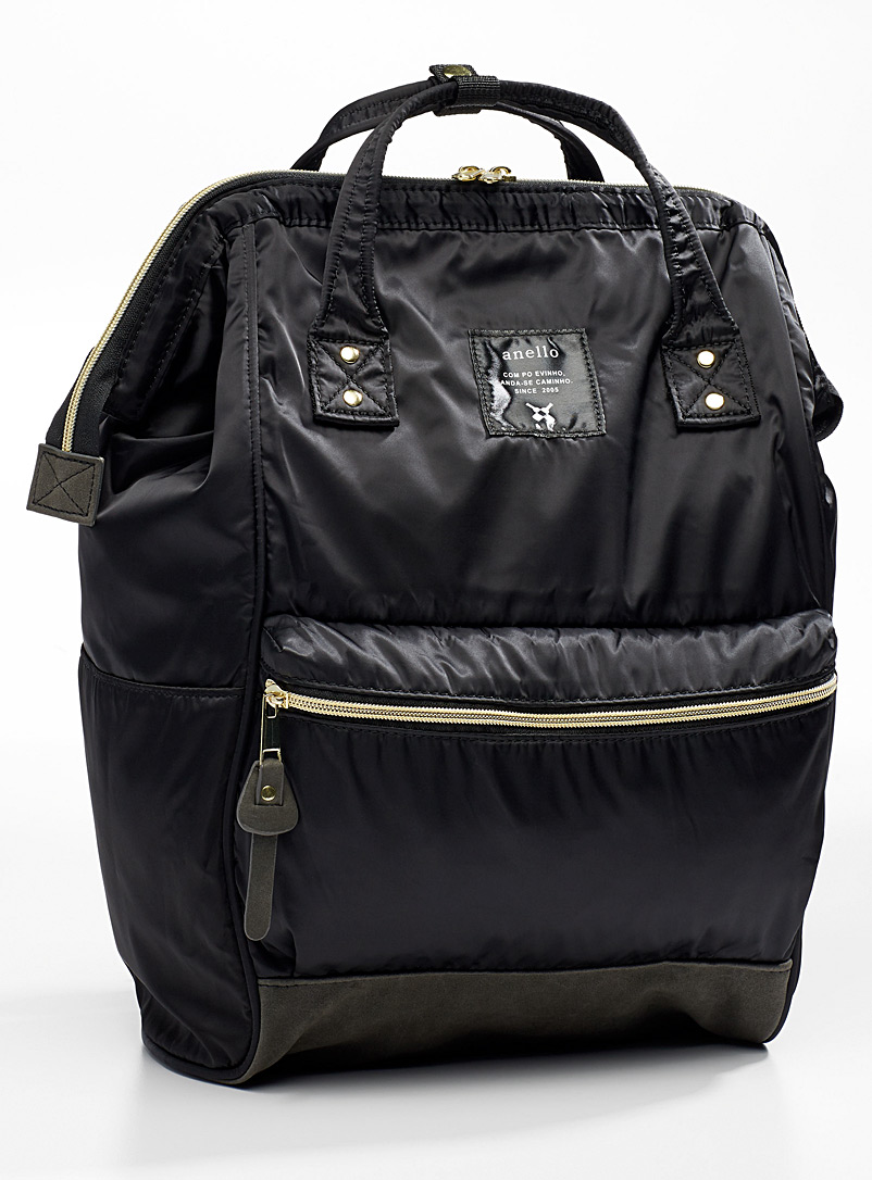Nylon backpack - Backpacks - Black