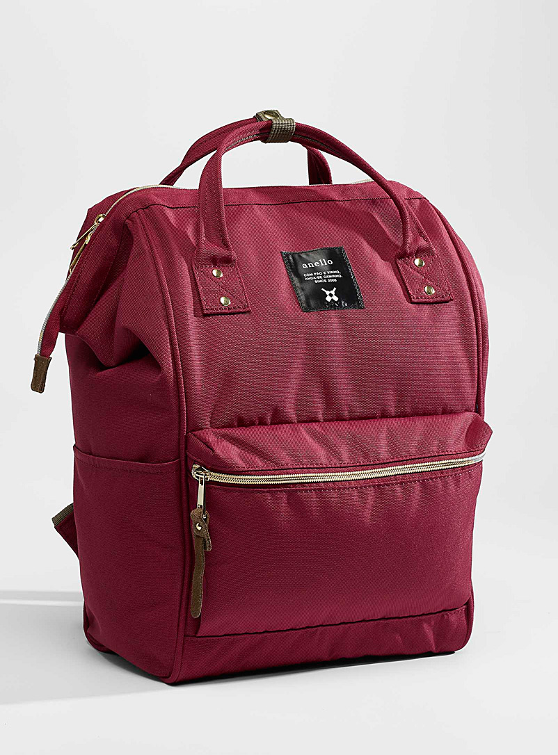 Anello Ruby Red Signature backpack for women