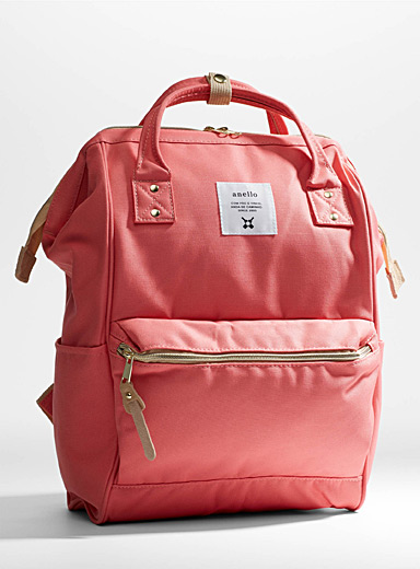 Anello Pink Signature backpack for women