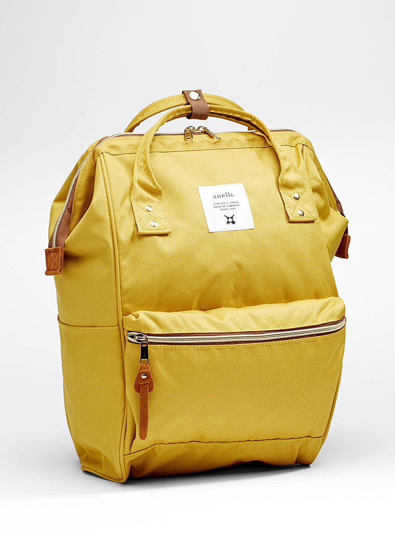 Signature backpack - Backpacks - Dark Yellow