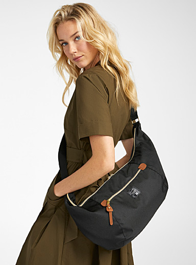 Large utility shoulder bag