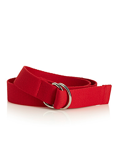 La ceinture sangle monochrome