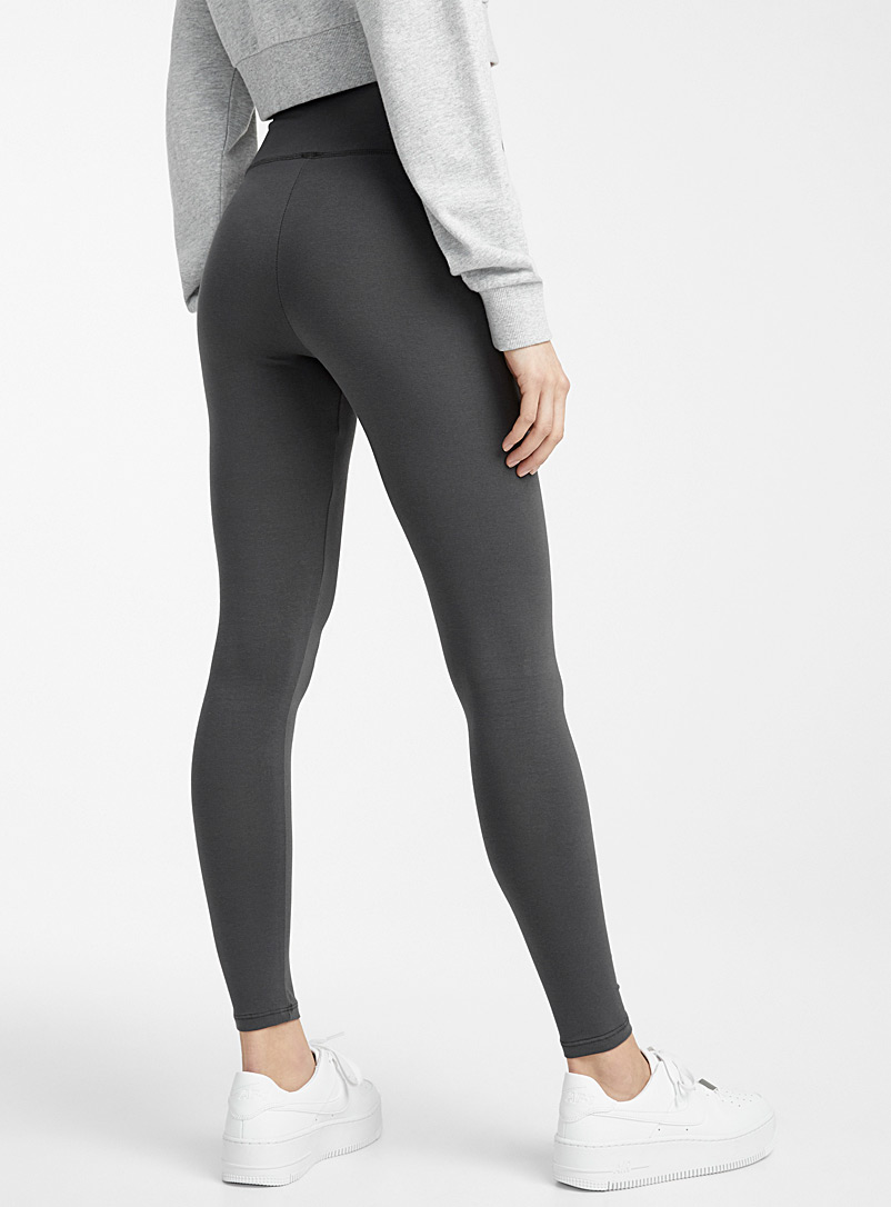 Twik Black Stretch cotton high-rise legging for women