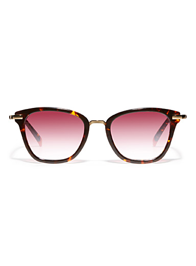 Gubbio square sunglasses