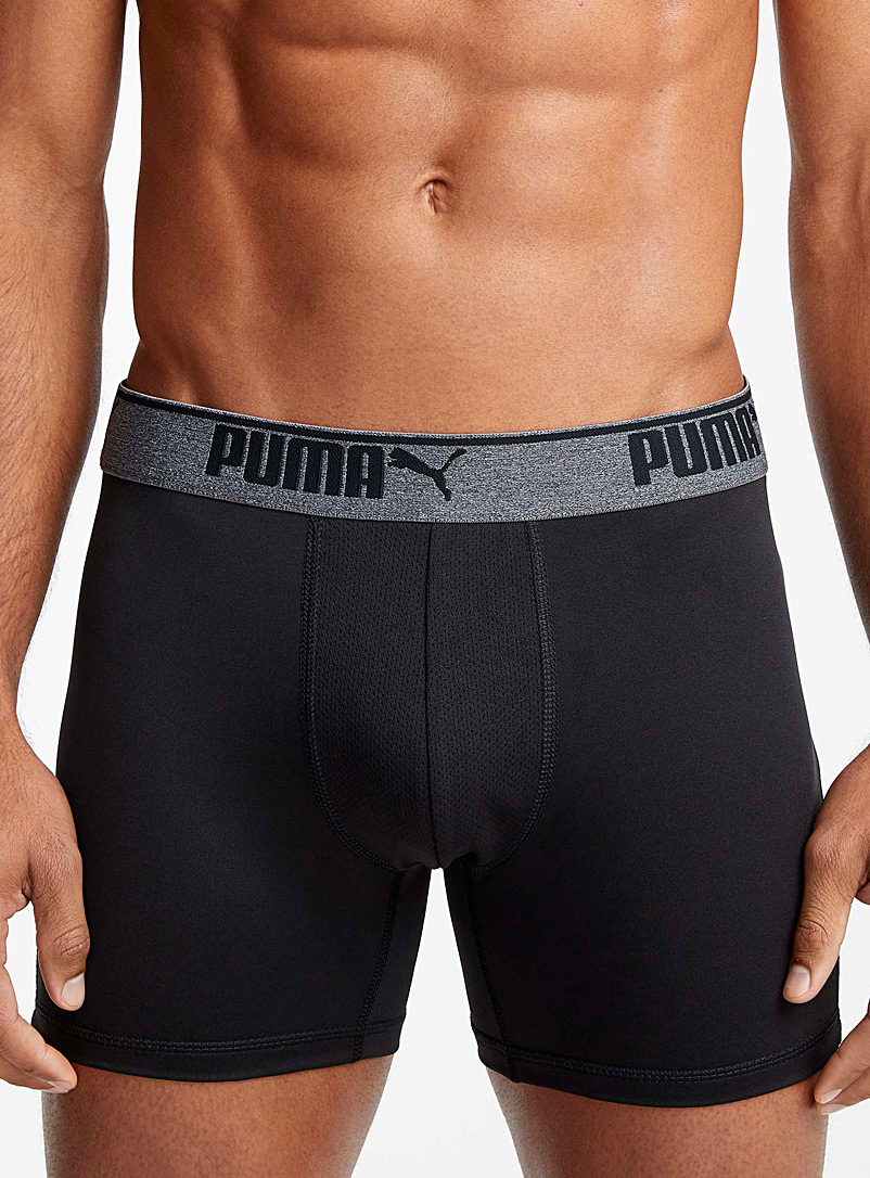 Puma Black Sporty boxer brief for men