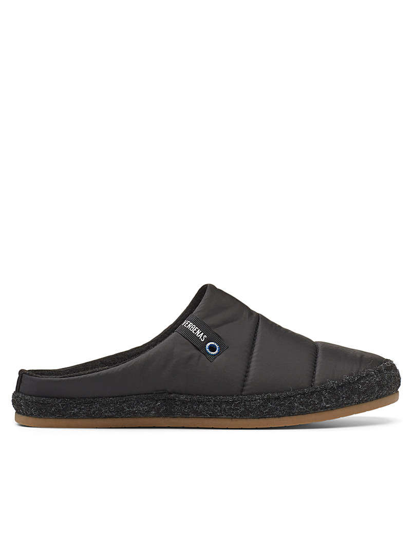 Verbenas Marine Blue Acolchado mule slippers  Men for men