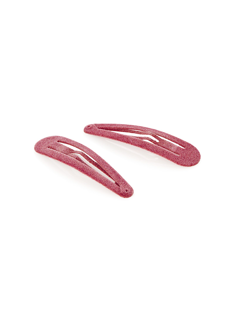Velvet barrettes  Set of 2 - Barrettes and Clips - Assorted