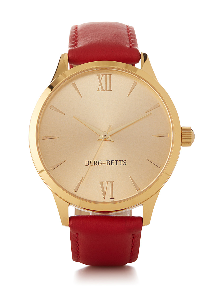 la-montre-mindful-rouge-et-or