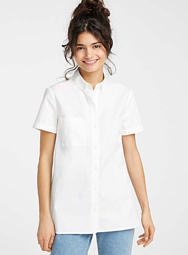 Painter boyfriend shirt